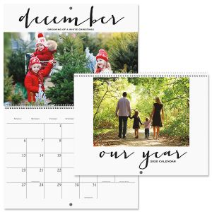 Wall Personalized 2021 Photo Calendar