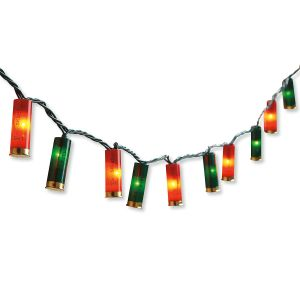 Shotgun Shell Christmas Lights