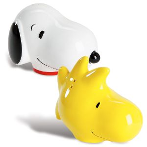 PEANUTS Snoopy™ & Woodstock Salt and Pepper Shakers