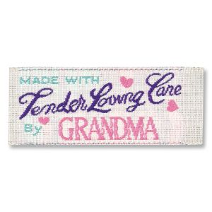 TLC Grandma Sewing Label