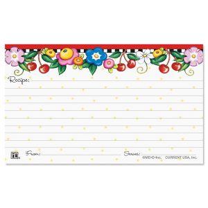 Mary Englebreit® Recipe Cards - 3 x 5