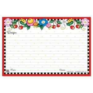 Mary Engelbreit® Recipe Cards - 4 x 6