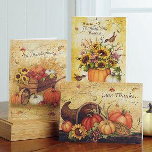 Harvest Thanks Cards