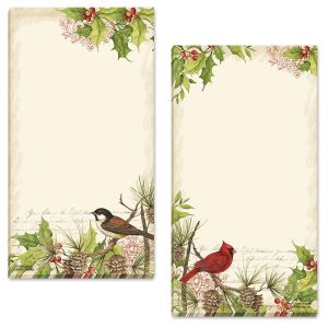 Holly & Birds Memo List Pad