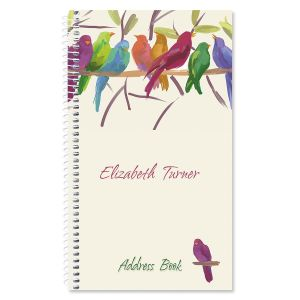 Flocked Together Personalized Lifetime Address Book