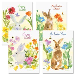 Easter Bunnies Cards