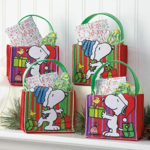 PEANUTS® Felt Treat Bags