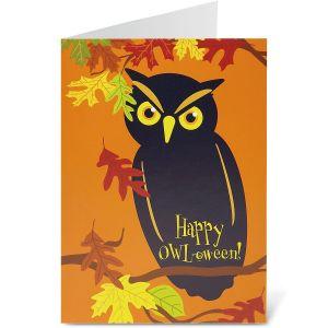 Halloween Owl Cards