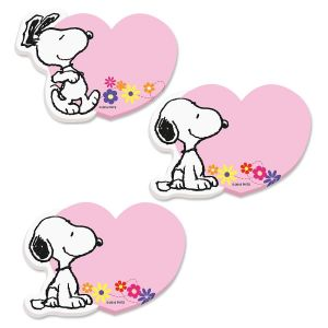 Snoopy™ Heart Sticky Note Pads