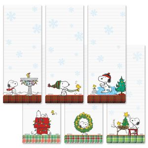 PEANUTS® Christmas Magnetic List Pads