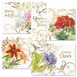 Deluxe Get Well Greeting Cards