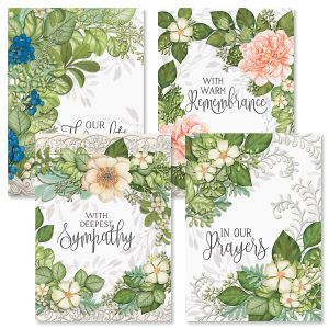 Warm Remembrance Sympathy Greeting Cards