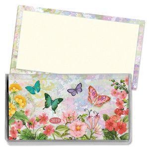 2019 Watercolor Garden Pocket Calendar