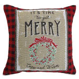 Get Merry Decorative Pillow