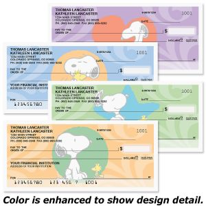 Snoopy™ & Woodstock Personal Premium Checks