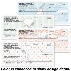 Snoopy™ Fun Personal Premium Checks