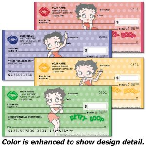 Betty Boop™ Personal Premium Checks