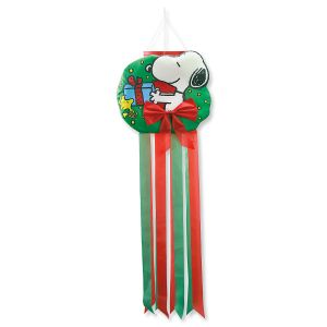 PEANUTS® Holiday Windsock