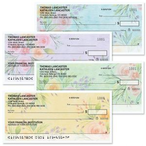 Full Bloom Personal Checks