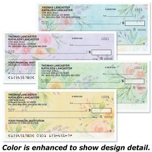 Full Bloom Personal Checks