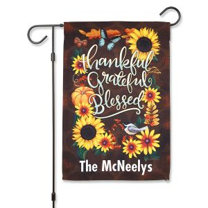 Autumn Welcome Garden Flag