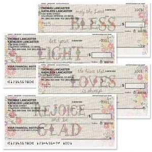 Hand Stitch Personal Checks