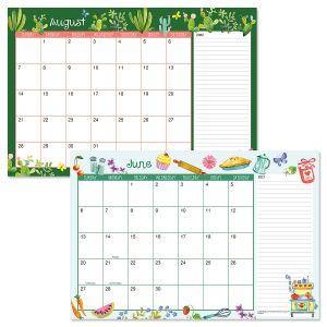 Whimsey Borders Calendar Pad 2021-2022