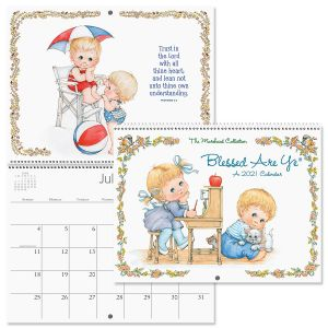 Blessed Are Ye® Wall Calendar 2021