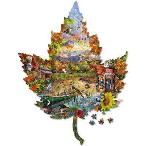 Autumn Shoreline Puzzle