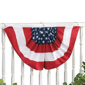 Patriotic Bunting Swags