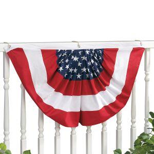 Patriotic Bunting Swags