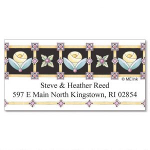 Royal Rose Deluxe Address Labels