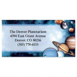 Space Border Address Labels