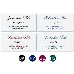 Formal  Address Labels