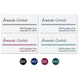 Elegant Lines Address Labels