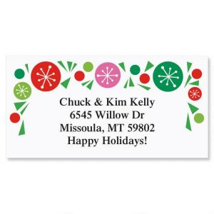 Tasty Trees  Border Address Labels