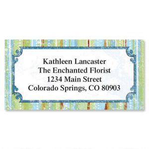 Letraset II Border Address Labels