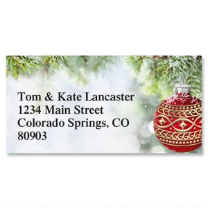 Forest Brilliance Border Address Labels