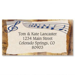 Allegro Border Address Labels