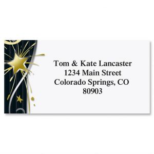 After Midnight Border Address Labels