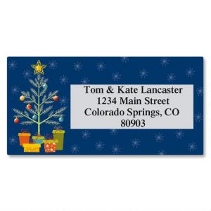Tree Border Address Labels