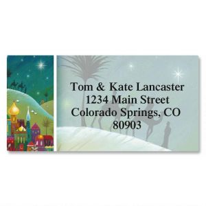 Faith Border Address Labels