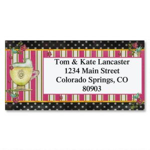 Wake Up Border Address Labels