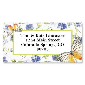 Countryside Border Return Address Labels
