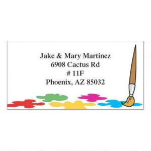 Palette Border Address Labels