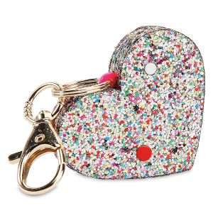 Ahh!-Larm Heart Shaped Keychain Alarm