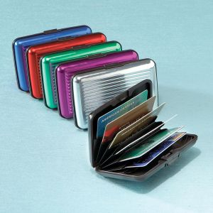 ScanSafe Aluminum Alloy Wallet