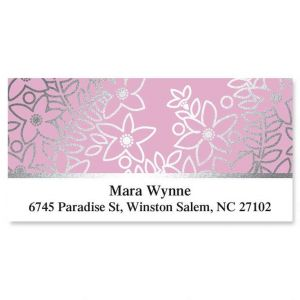 Bloom Foil Deluxe Address Labels