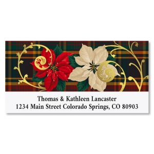 Good Tidings Deluxe Foil Christmas Address Labels
