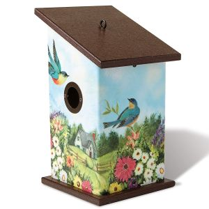 Summer Afternoon Rest Stop Birdhouse